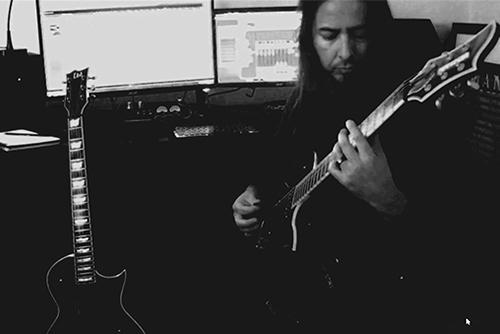 Nogales recording guitars